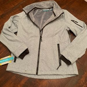 Free Country Super Softshell Silver Jacket